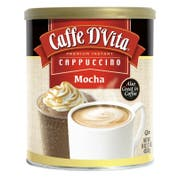 Caffe D Vita Mocha Instant Cappuccino, 16 Ounce -- 6 per case