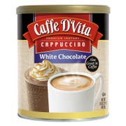 Caffe D Vita White Chocolate Instant Cappuccino, 1 Pound -- 6 per case