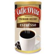 Caffe D Vita Espresso Instant Coffee, 3 Ounce -- 6 per case