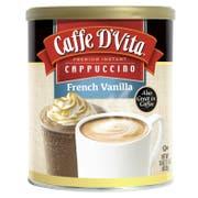 Caffe D Vita French Vanilla Instant Cappuccino, 1 Pound -- 6 per case
