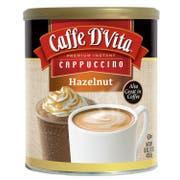 Caffe D Vita Hazelnut Instant Cappuccino, 16 Ounce -- 6 per case