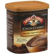 Land O Lakes Cocoa Classics Chocolate Supreme Hot Cocoa Mix, 14.8 Ounce Canister -- 6 per case