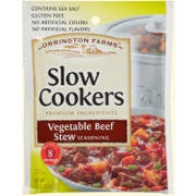 Orrington Farms Vegetable Beef Stew Slow Cookers Seasoning Mix, 2.5 Ounce Pouch -- 12 per case