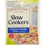 Orrington Farms Chicken Noodle Soup Stew Slow Cookers Seasoning Mix, 2.5 Ounce Pouch -- 12 per case