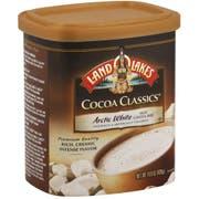 Land O Lakes Cocoa Classics Arctic White Hot Cocoa Mix, 14.8 Ounce Canister -- 6 per case