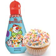 Mr Sprinkles Rainbow Sprinkles, 6 Ounce -- 6 per case