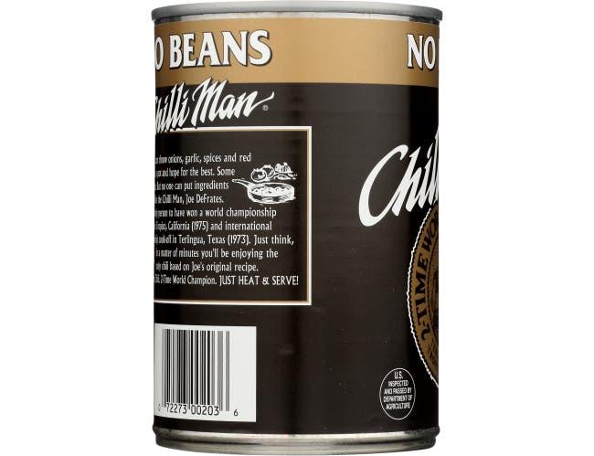 Chilli Man No Bean Chili, 15 Ounce -- 12 per case
