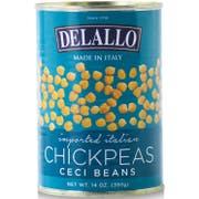 Delallo Bean Chick Peas, 14 Ounce -- 12 per case