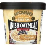 McCanns Original Instant Irish Oatmeal Cup, 1.9 Ounce -- 12 per case