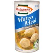 Manischewitz Matzo Meal, 27 Ounce Canister -- 12 per case