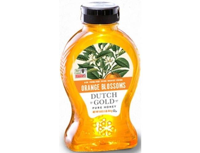 Dutch Gold Orange Blossom Honey, 16 Ounce -- 6 per case