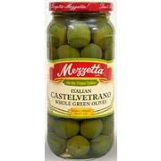 Mezzetta Castelvetrano Whole Green Olives, 10 Ounce -- 6 per case