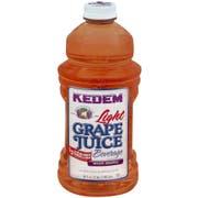 Kedem Light White Grape Juice, 64 Ounce -- 8 per case