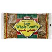 Ziyad Large Whole Lentil, 16 Ounce -- 6 per case