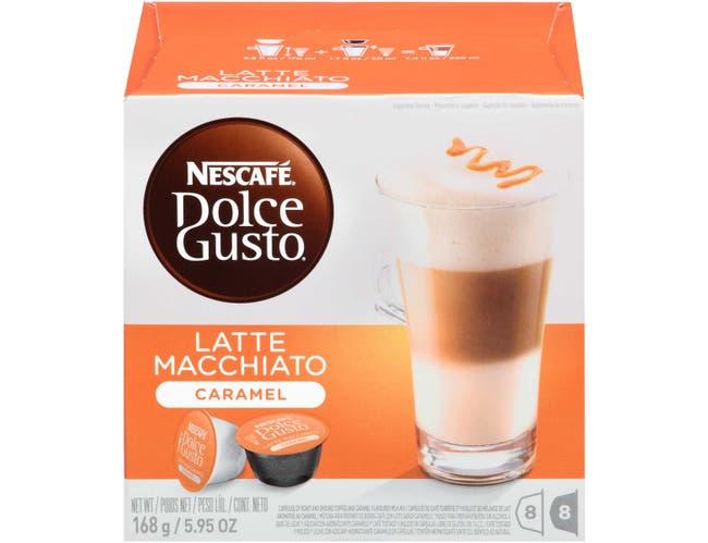 Nescafe Dolce Gusto Caramel Latte Macchiato, 0.372 Ounce -- 3 per case.