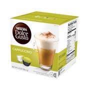 Nescafe Dolce Gusto Cappuccino, 0.41 Ounce -- 3 per case.
