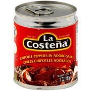 La Costena Chipotle Peppers in Adobo Sauce, 7 Ounce -- 12 per case