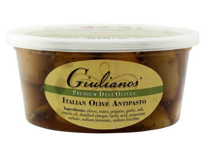 Giuliano Italian Olive Antipasto, 12 Ounce -- 6 per case