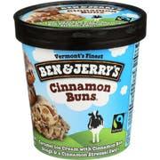 Ben and Jerrys Cinnamon Buns Ice Cream, 1 Pint -- 8 per case.