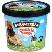 Ben and Jerrys Cookie Dough Ice Cream Cup, 3.6 Fluid Ounce -- 12 per case