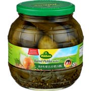 Kuhne Barrel Pickles, 35.9 Ounce -- 6 per case