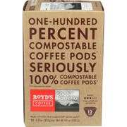 Boyds Good Morning Single Cup Coffee Pod, 12 count per pack -- 6 per case