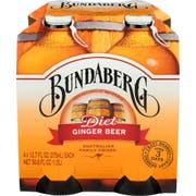 Bundaberg Ginger Beer Diet Soda, 4 count per pack -- 6 per case