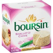 Boursin Shallot and Chive Cheese Spreadable, 5.2 Ounce -- 6 per case