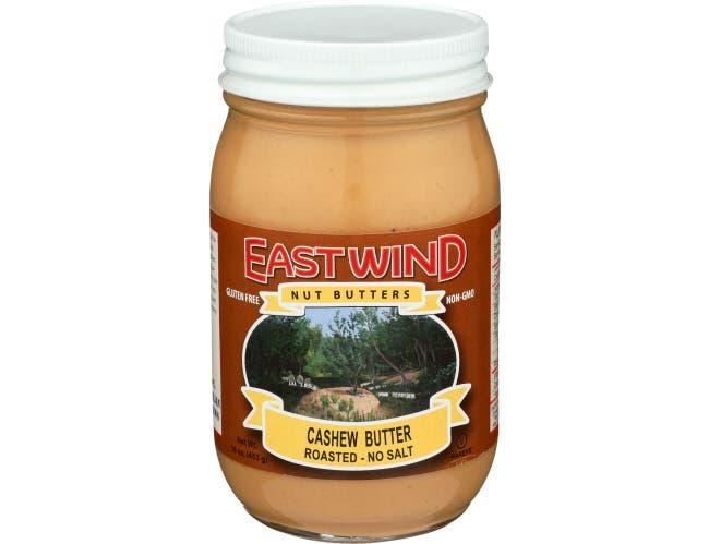 East Wind Roasted Cashew Nut Butter, 16 Ounce -- 6 per case