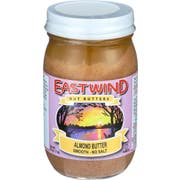 East Wind Smooth Almond Butter, 16 Ounce -- 6 per case
