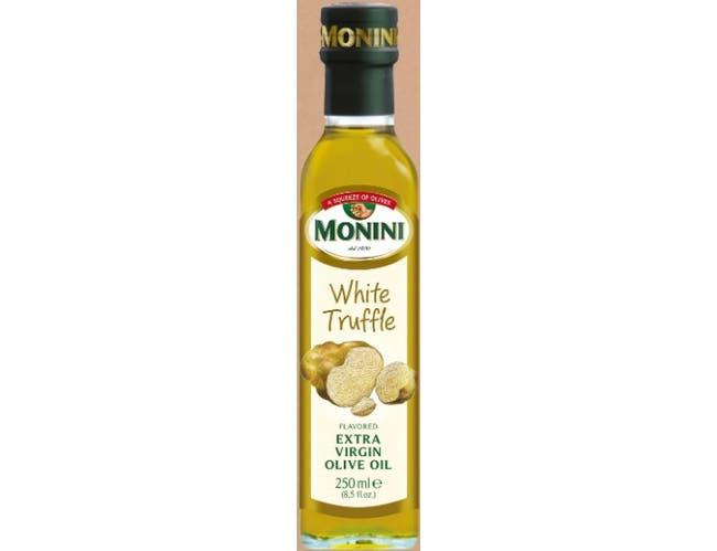 Monini White Truffle Flavored Extra Virgin Olive Oil, 8.5 Ounce -- 6 per case