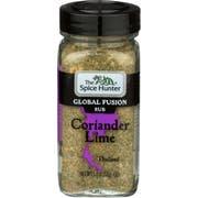 The Spice Hunter Coriander Lime Global Fusion Rub, 1.9 Ounce -- 3 per case