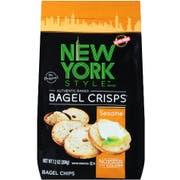 New York Style Sesame Bagel Crisps, 7.2 Ounce -- 12 per case