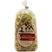 Al Dente Three Peppercorn Fettuccine Pasta, 12 Ounce -- 6 per case