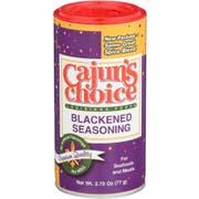 Cajuns Choice Blackened Fish Seasoning, 2.75 Ounce -- 12 per case