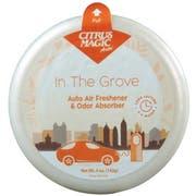 Citrus Magic In The Grove Solid Car Air Freshener, 5 Ounce -- 6 per case