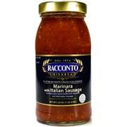 Racconto Riserva Marinara with Italian Sausage Pasta Sauce, 24 Ounce -- 6 per case