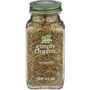 Simply Organic Whole Rosemary Leaf Seasoning, 1.23 Ounce -- 6 per case