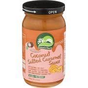 Natures Charm Salted Caramel Coconut Sauce, 14.11 Ounce -- 6 per case