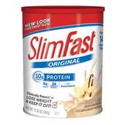 Slim Fast French Vanilla Powder Shake Mix, 12.83 Ounce -- 3 per case.
