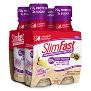 Slimfast Advanced Ready To Drink Vanilla Cream, 11 Fluid Ounce -- 12 per case.