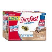 SlimFast Cappuccino Delight, 88 Fluid Ounce -- 3 per case.