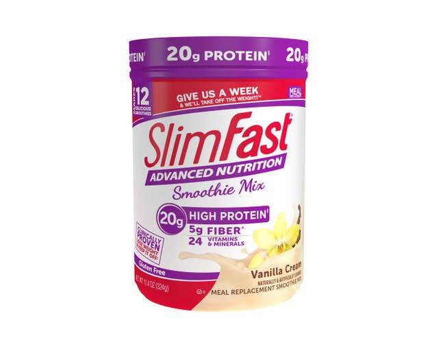 Slimfast Advanced French Vanilla Smoothie, 11.4 Fluid Ounce -- 2 per case