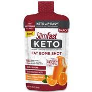 Slim Fast Keto Orange Cream Fat Bomb Shot, 1 Fluid Ounce -- 40 per case