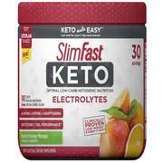 Slim Fast Keto Electrolyte Powder, 6.3 Ounce -- 12 per case