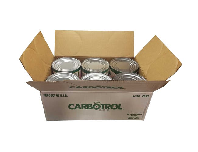 Carbotrol Apricot Sauce 1/2 6 Case 10 Can