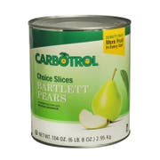Carbotrol Slice Pear 6 Case 10 Can