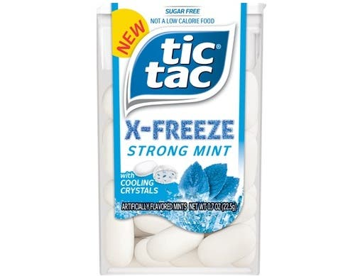 Tic Tac X Freeze Strong Mints with Cooling Crystals, 0.7 Ounce -- 288 per case