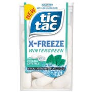 Tic Tac X Freeze Wintergreen Mints with Cooling Crystals, 0.7 Ounce -- 288 per case