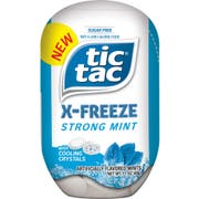 Tic Tac X Freeze Strong Mints with Cooling Crystals, 1.7 Ounce -- 48 per case